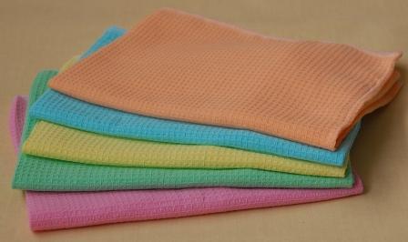Характеристики вафельного полотенца