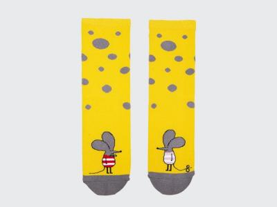 MF женские высокие носки