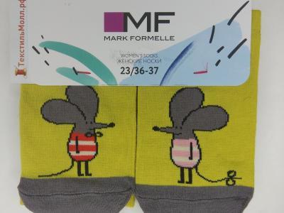 Носки с рисунком в виде мышек