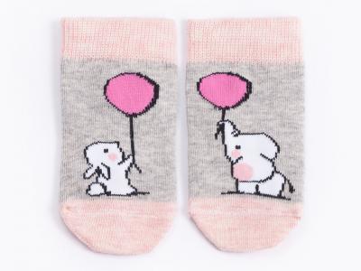 слоники,  розовый меланж
