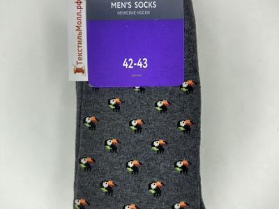 MF мужские носки с рисунком в виде туканов