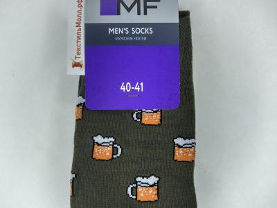 MF мужские носки с рисунком в виде кружек с пивом