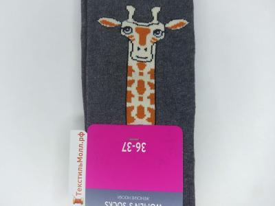 MF носки с высокой резинкой и с рисунком в виде жирафа