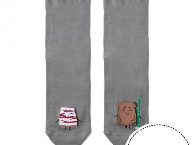 мужские носки с высокой резинкой