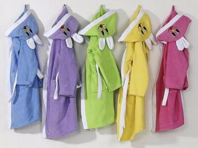 махровый детский халат на рост 104-110