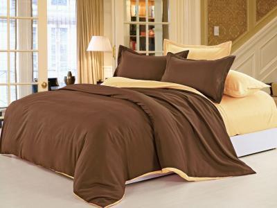 Двухцветное постельное белье