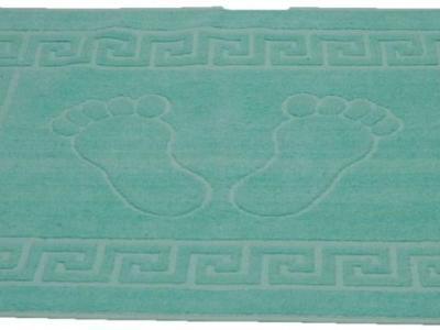 Полотенце-коврик для ног Turquase (бирюзовый)