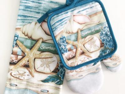 руковичка+прихватка+полотенце