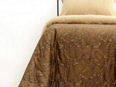Одеяло с открытой шерстью тёплое